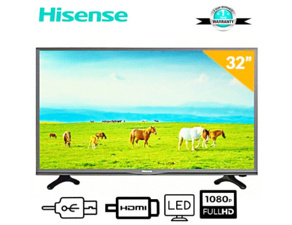 Hisense 32 Inch Led Hd Tv With Free Bracket 24N50HTS